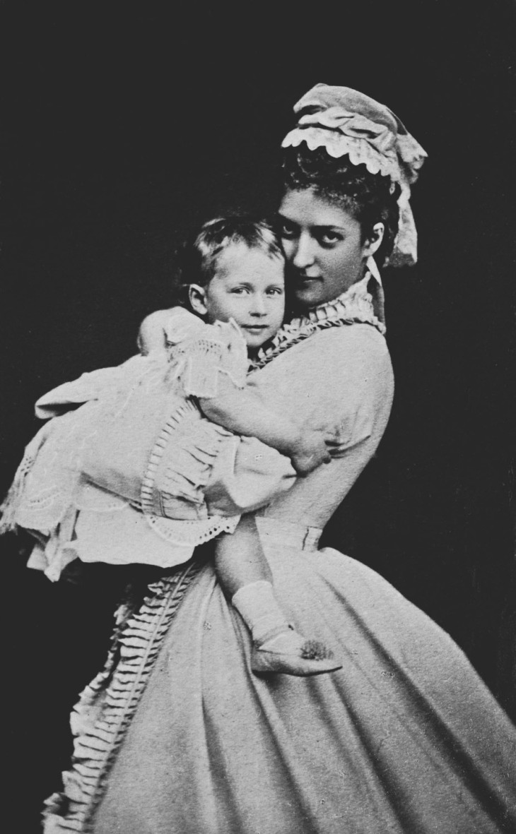 Wings of Whimsy: Alexandra, Princess of Wales, and Princess Maud, 1872