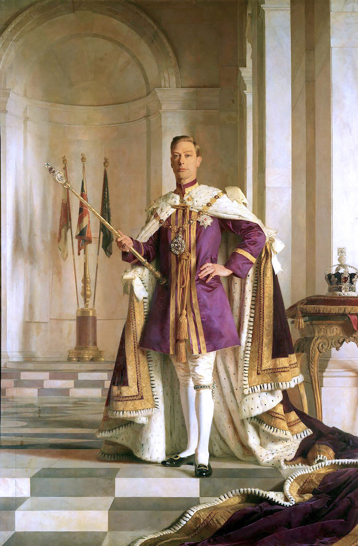 Wings of Whimsy: 1938 King George VI #pretty #data #king #royal