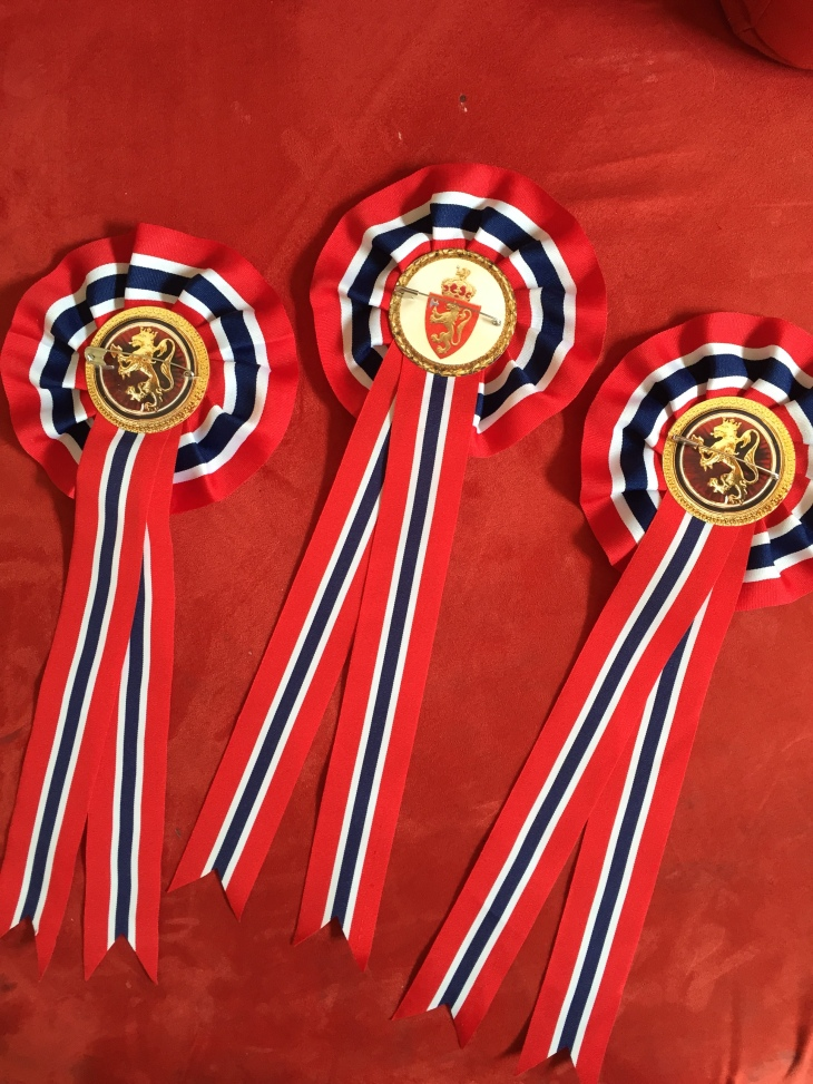Even the back side of my rosettes look good!
