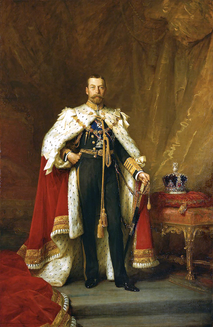 Wings of Whimsy: 1911 King George V by Luke Fildes #vintage #ephemera #pretty #data #edwardian #freebie #printable #king