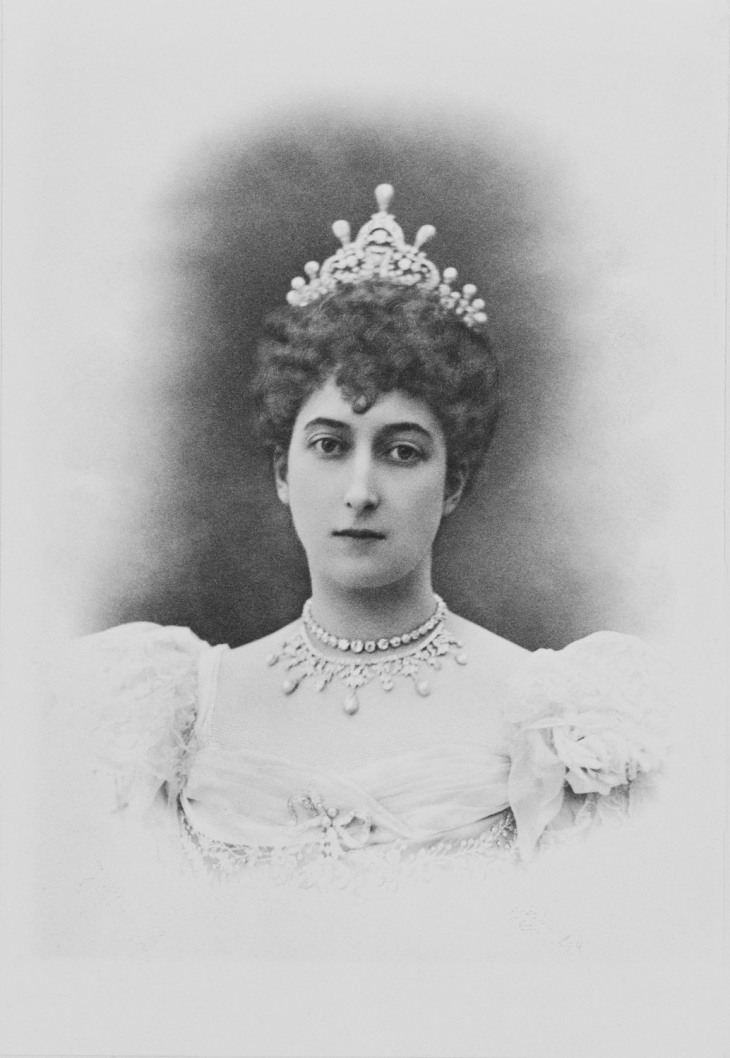 Maud, Princess Charles of Denmark, later Queen Maud of Norway circa 1896