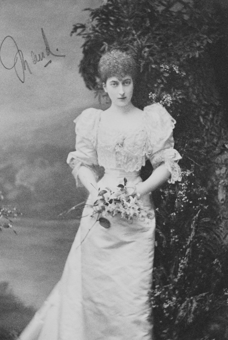 Maud, Princess Charles of Denmark, later Queen Maud of Norway circa 1897