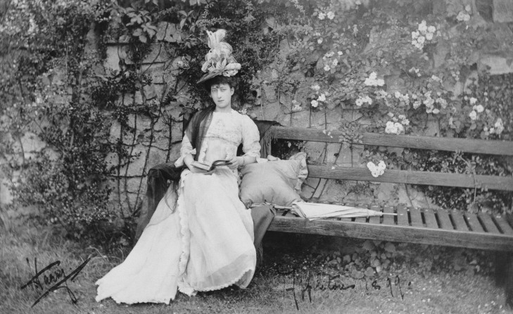 Maud, Princess Charles of Denmark, later Queen Maud of Norway circa 1899