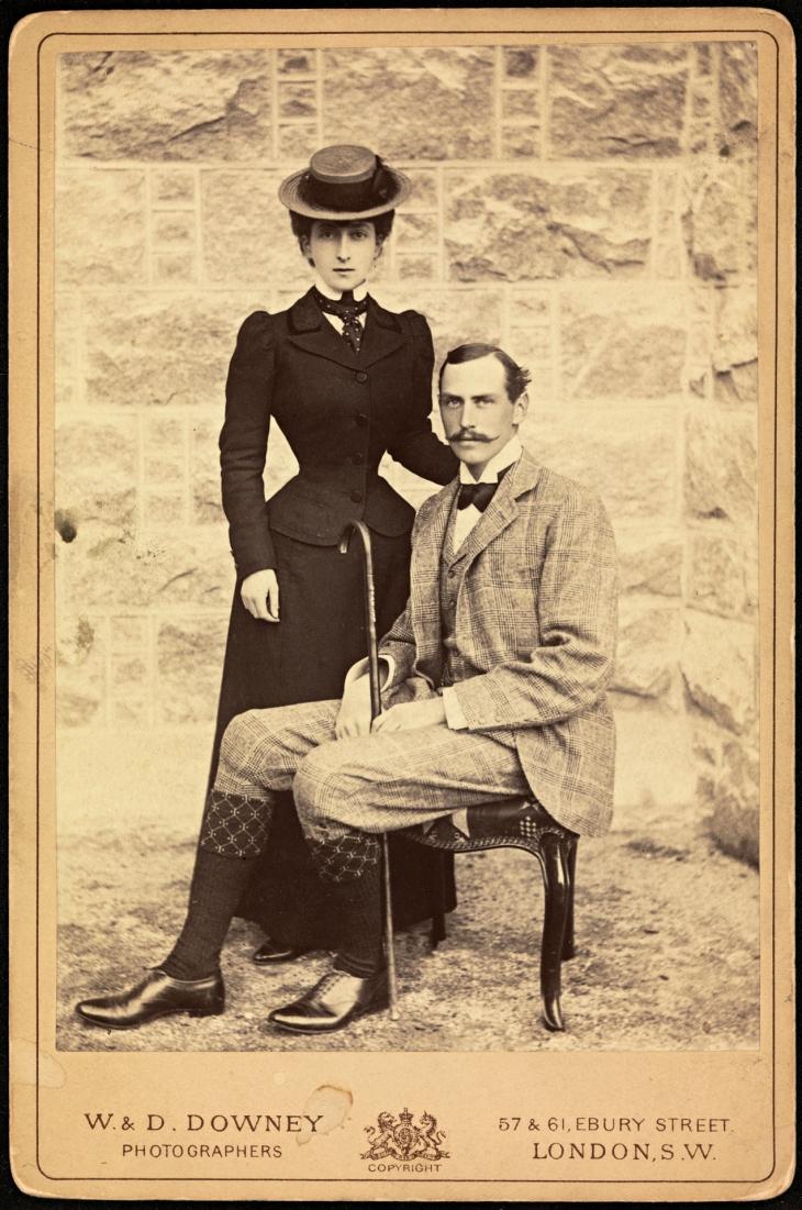 Wings of Whimsy: Prince Charles and Princess Maud #vintage #ephemera #freebie #printable #royal #king #norway