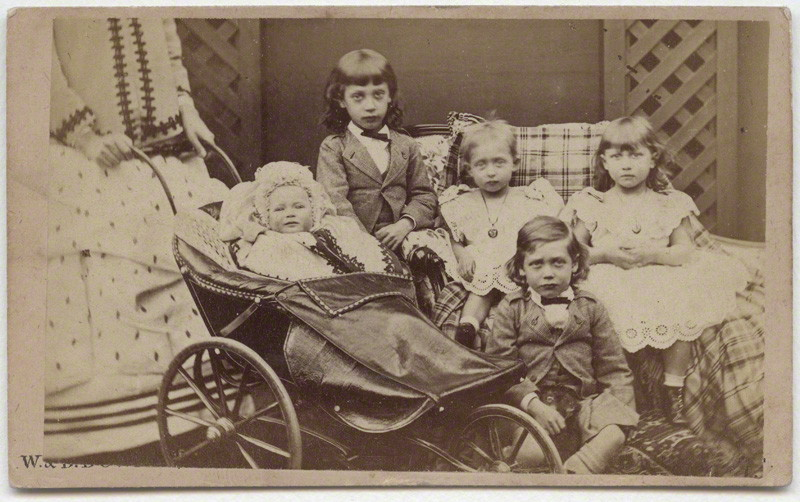 The children of King Edward VII when Prince of Wales 1871