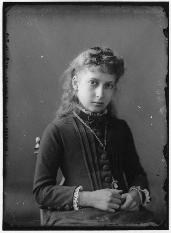 Princess Maud by Alexander Bassano, early 1880s