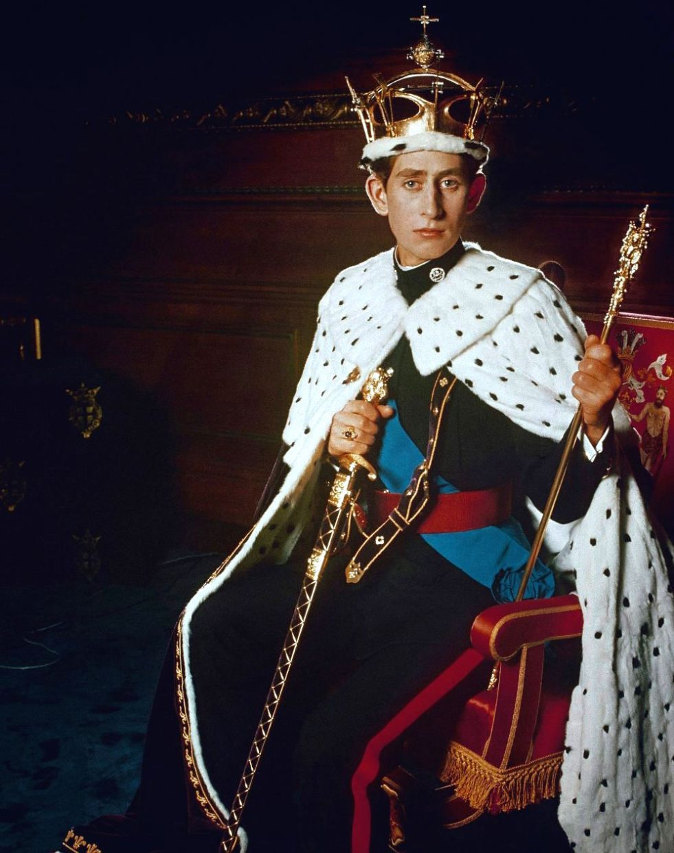 Wings of Whimsy: Prince Charles age 21 investiture as Prince of Wales #pretty #data #queen #royal