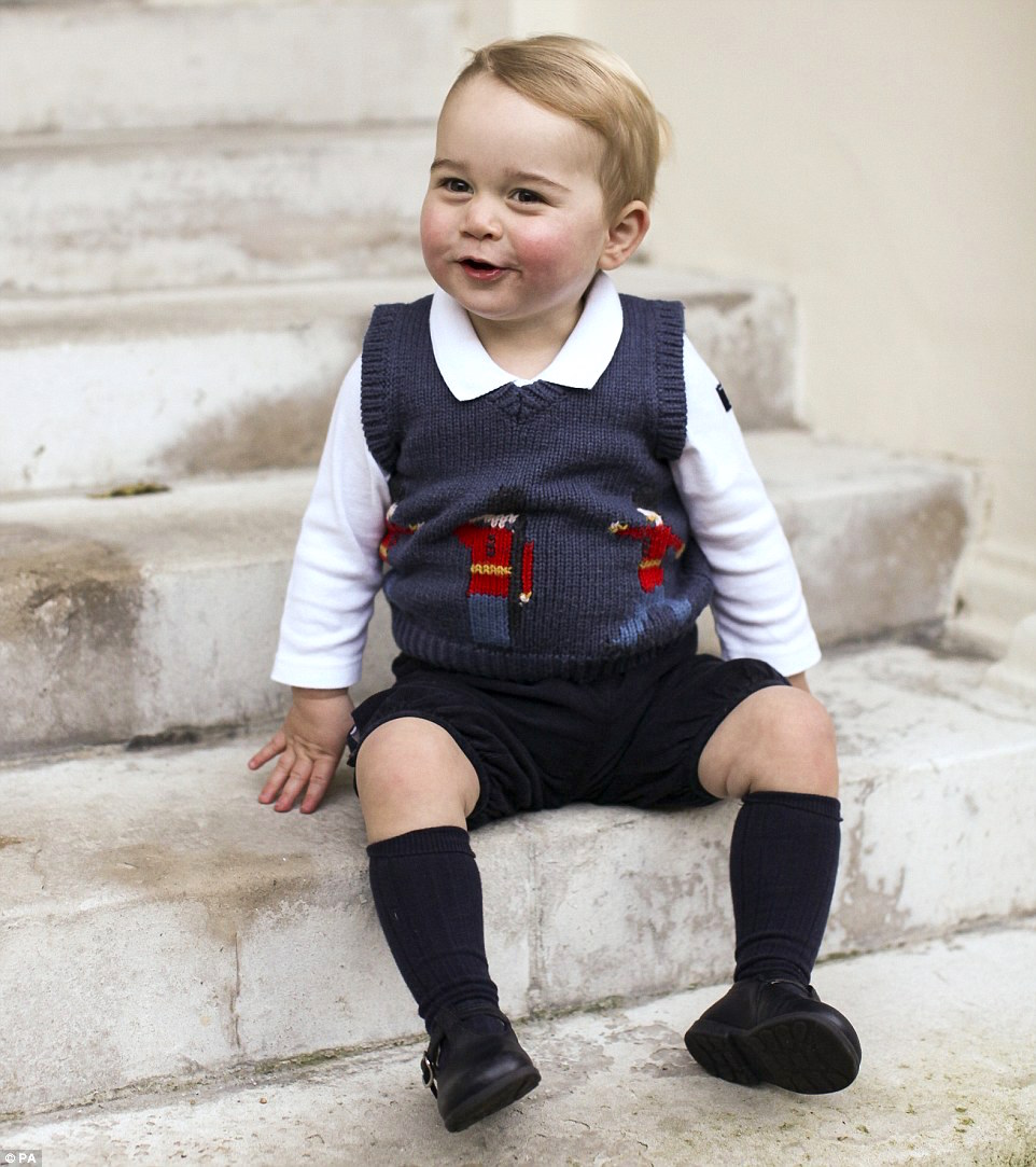 Wings of Whimsy: Prince George of Cambridge, December 2015