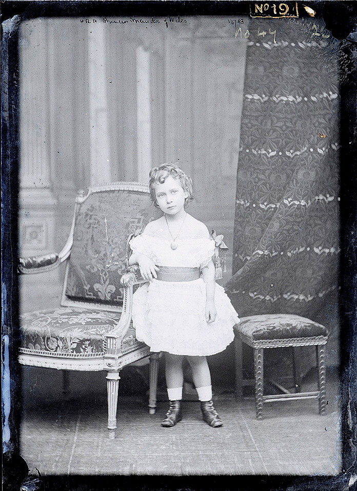 Princess Maud of Wales circa 1875.