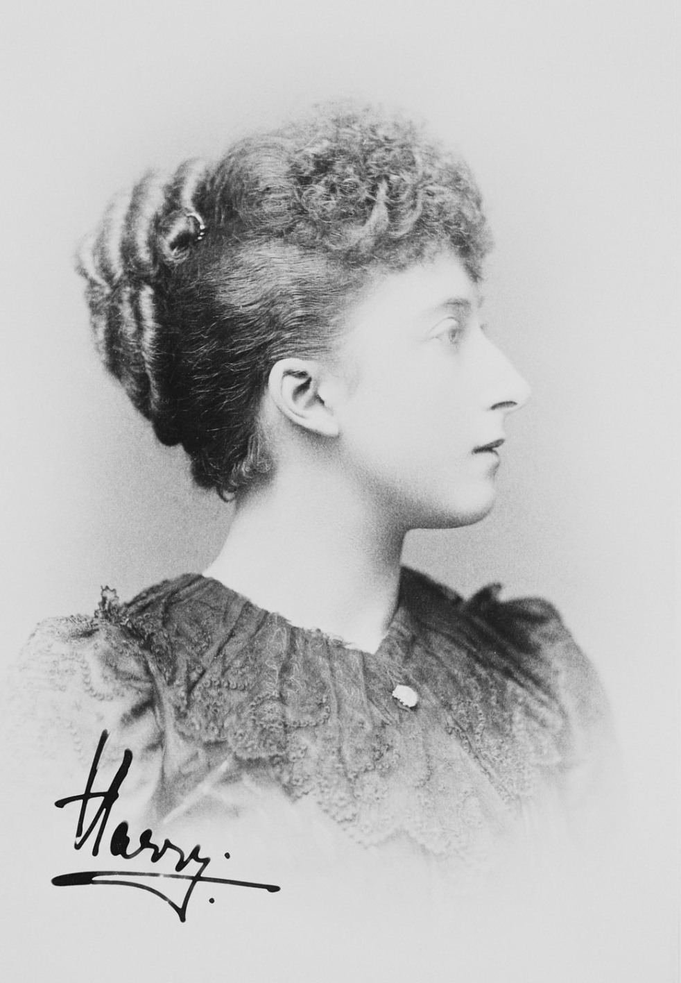 Princess Maud of Wales, later Queen Maud of Norway circa 1893