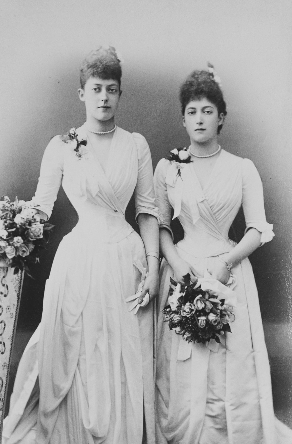 Princess Victoria and Princess Maud of Wales, 27 July 1889