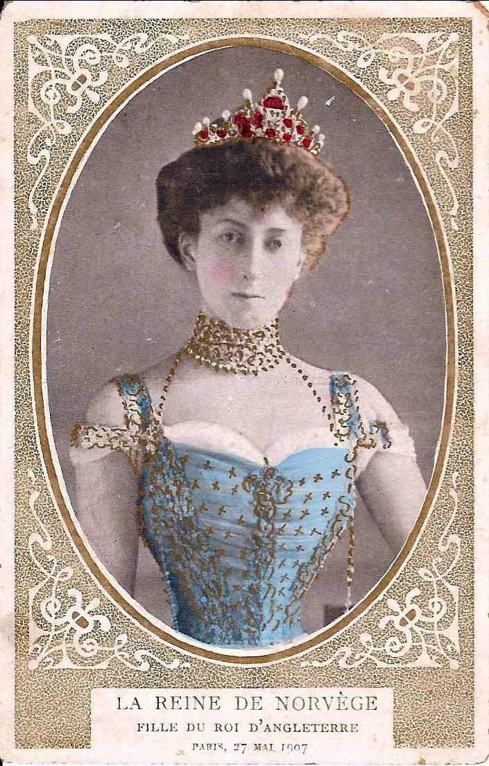 Wings of Whimsy: Queen Maud #vintage #ephemera #freebie #printable #royal #king #norway