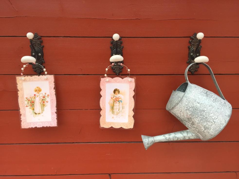Wings of Whimsy: DIY Rose Girl Hangers #vintage #ephemera #freebie #printable #lace #rose #girl #png