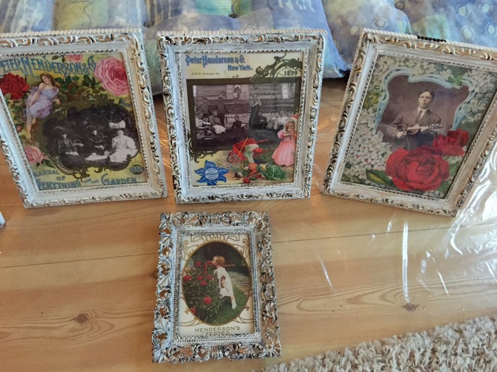 Wings of Whimsy: Chalk Painted Frames