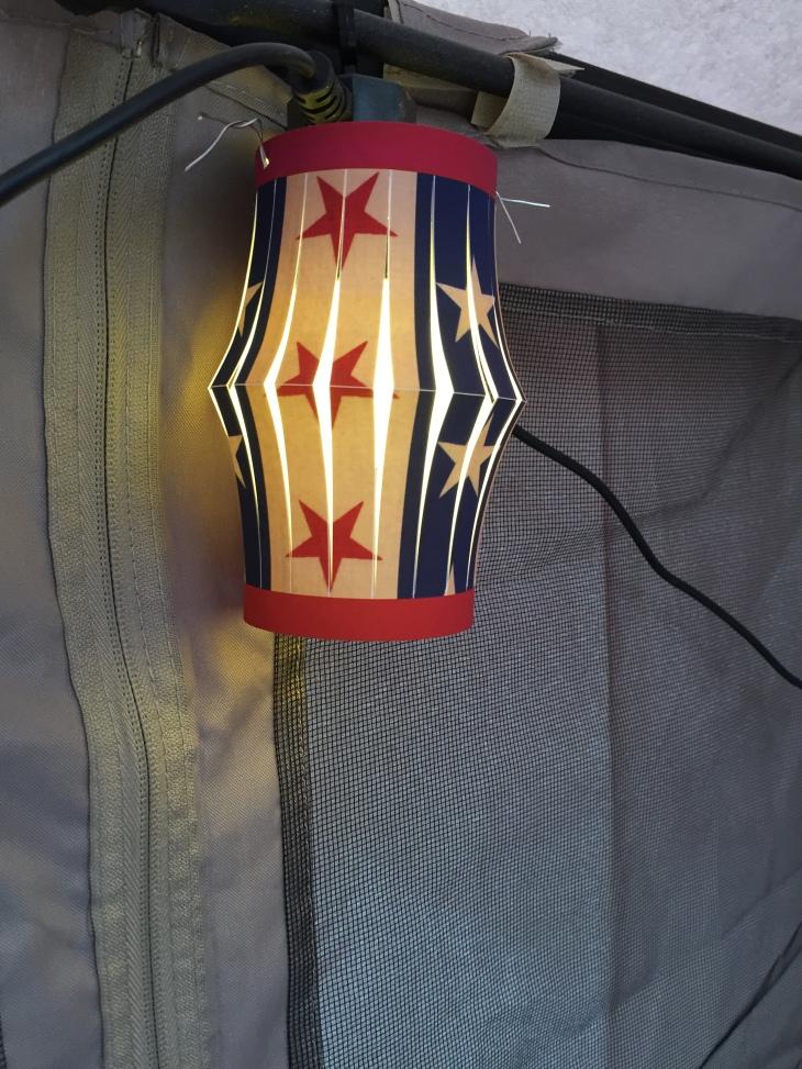 Wings of Whimsy: Stars N Stripes Lanterns #vintage #printable #freebie #diy #american #4th #july #lantern