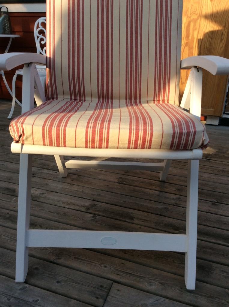 DIY Garden Furniture Pillow Covers