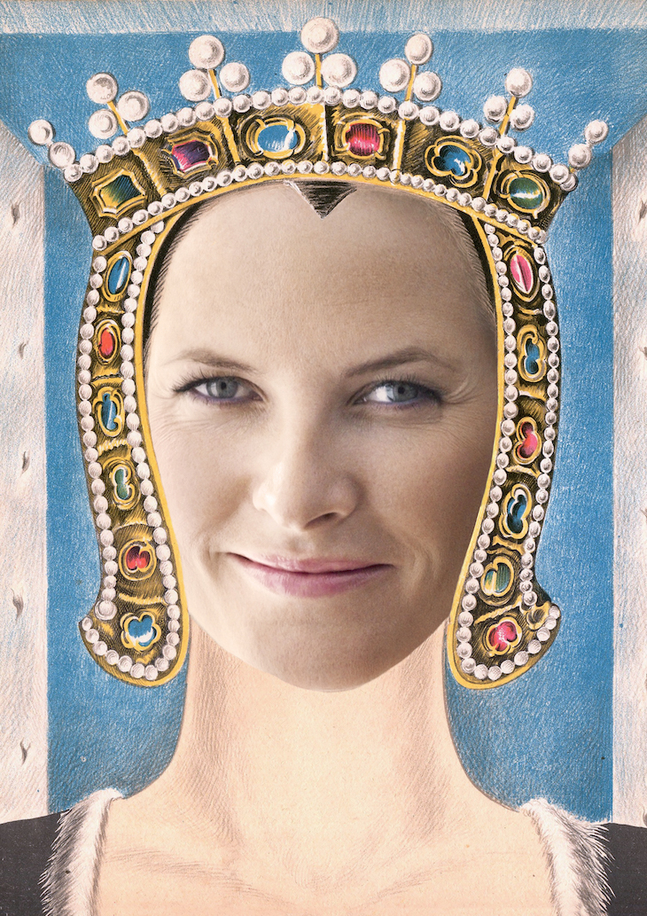 Wings of Whimsy: Royal Mask Mette Marit #vintage #ephemera #freebie #printable #royal #king #queen #mask kopi