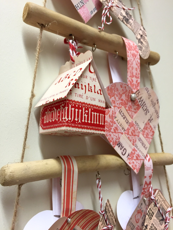 Wings of Whimsy: Norwegian Christmas Hearts #vintage #ephemera #freebie #printable #christmas #heart
