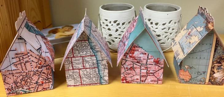 Wings of Whimsy: Map Cottages #vintage #freebie #printable #ephemera #map #cottage