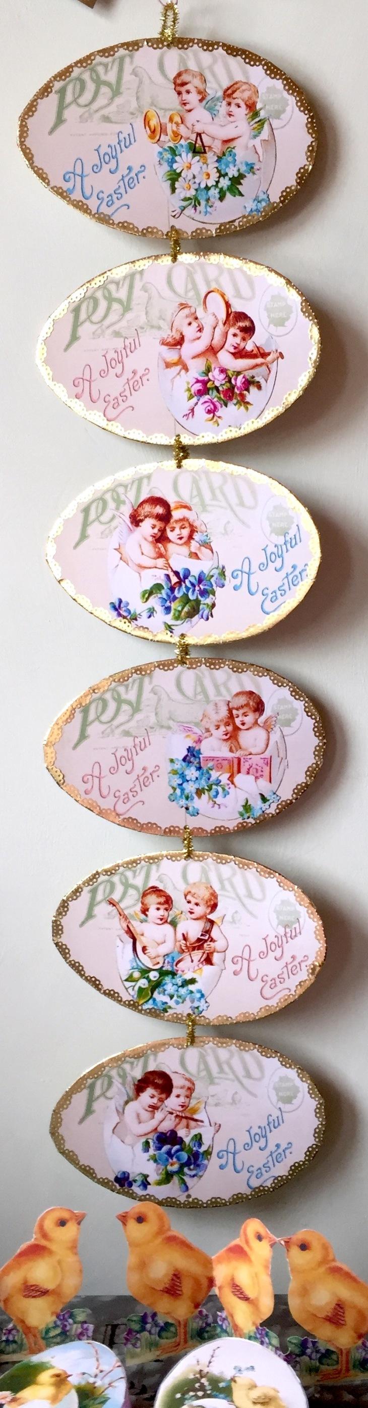 Wings of Whimsy: Cherub Eggs No1-3 #vintage #ephemera #freebie #printable #easter #cherubs #eggs