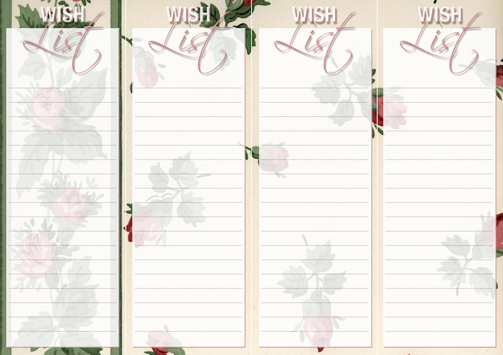 Wings of Whimsy: Vintage Wallpaper Lists: WISH #ephemera #vintage #freebie #printable #wallpaper #list