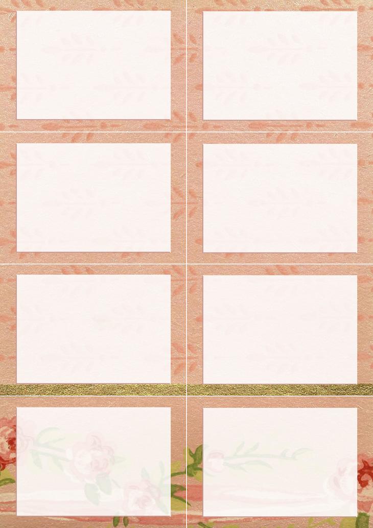 Wings of Whimsy: Vintage Wallpaper NOTES Blank No 6 #ephemera #vintage #freebie #printable #wallpaper #note