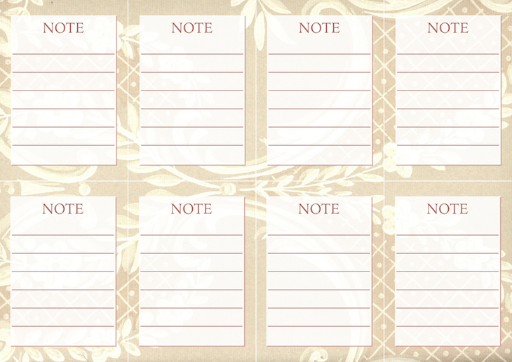 Wings of Whimsy: Vintage Wallpaper NOTES No 3 #ephemera #vintage #freebie #printable #wallpaper #note