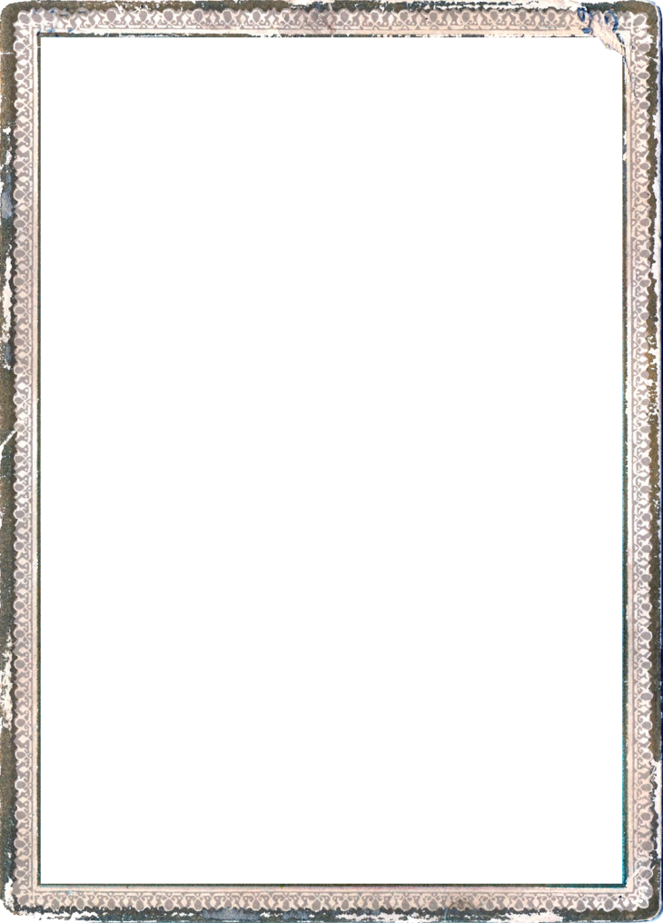 Wings of Whimsy: Grungy Frame PNG-file (transparent background) #vintage #freebie #ephemera #frame