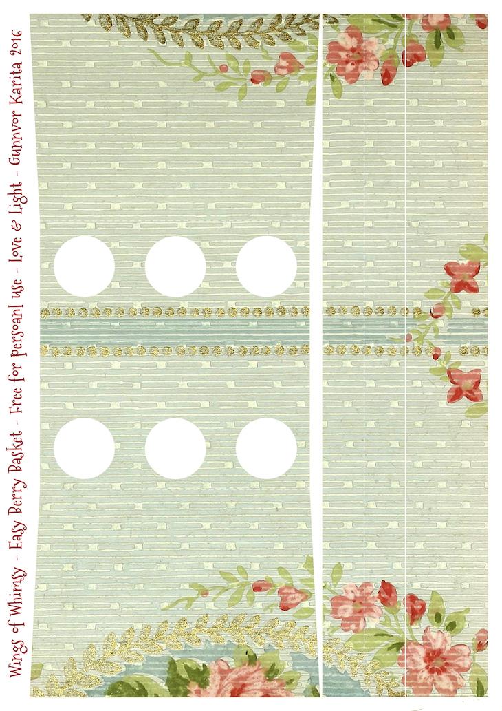 Wings of Whimsy: Berry Basket 10B #freebie #printable #vintage #wallpaper #berry #basket