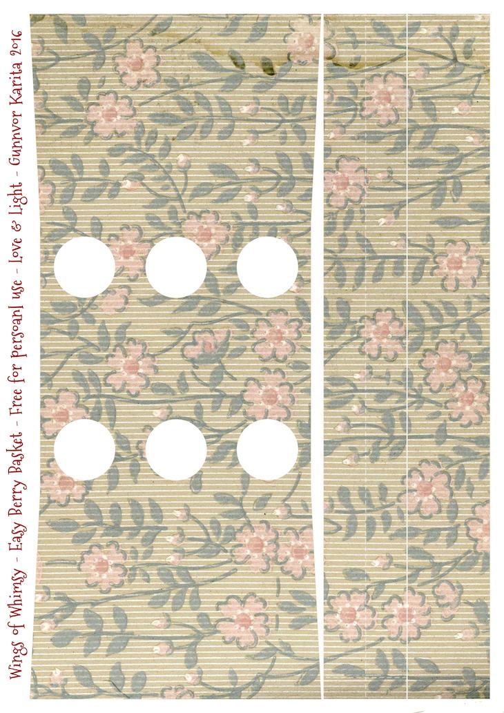 Wings of Whimsy: Berry Basket 18B #freebie #printable #vintage #wallpaper #berry #basket