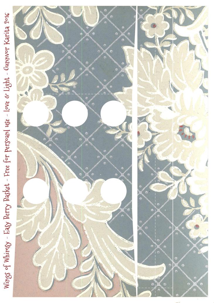 Wings of Whimsy: Berry Basket 3B #freebie #printable #vintage #wallpaper #berry #basket