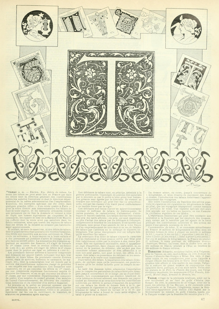 Wings of Whimsy: Noveau Larousse Illustré - T #vintage #french #dictionary #alphabet #capital #initial