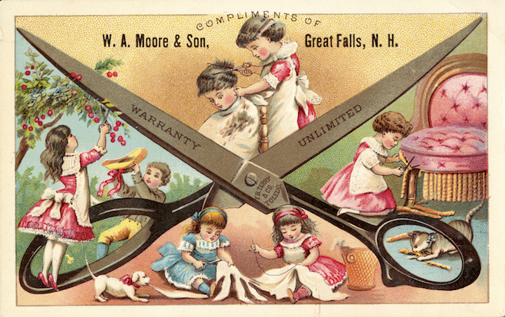 Wings of Whimsy: The Shears Mystery #vintage #ephemera #freebie #printable #shears #scissors