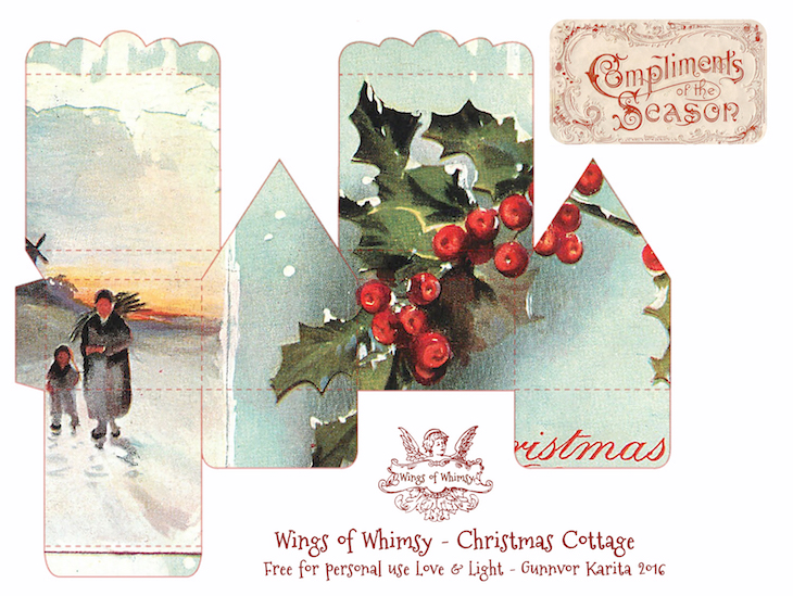 Wings of Whimsy: 100 Christmas Cottages
