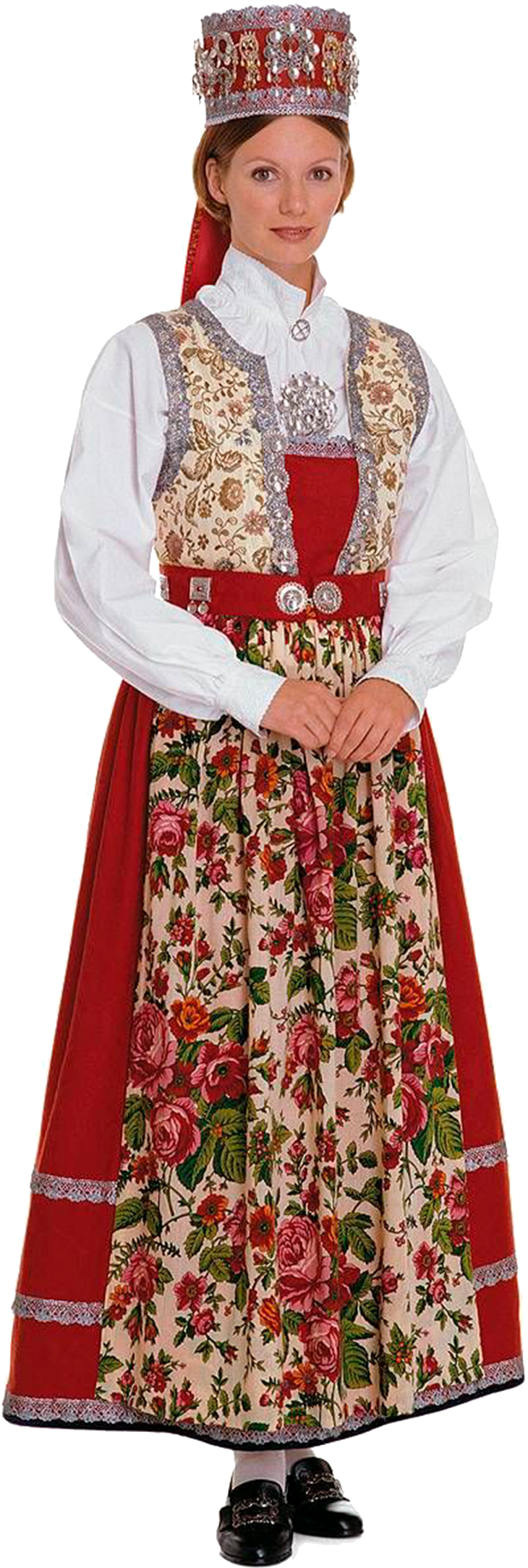 Wings of Whimsy: Traditional Norwegian Bride - Hallingdal