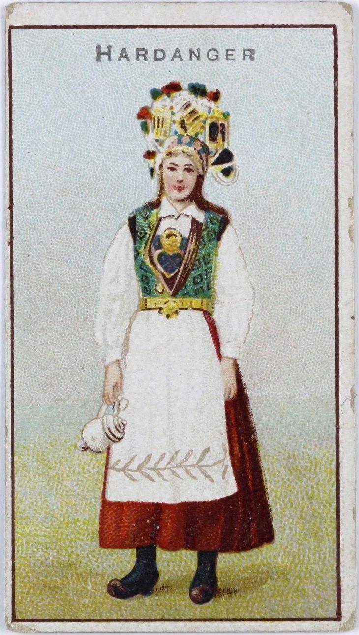 Wings of Whimsy: Bride Hardanger with Perlekrune (beaded crown ) ca 1900