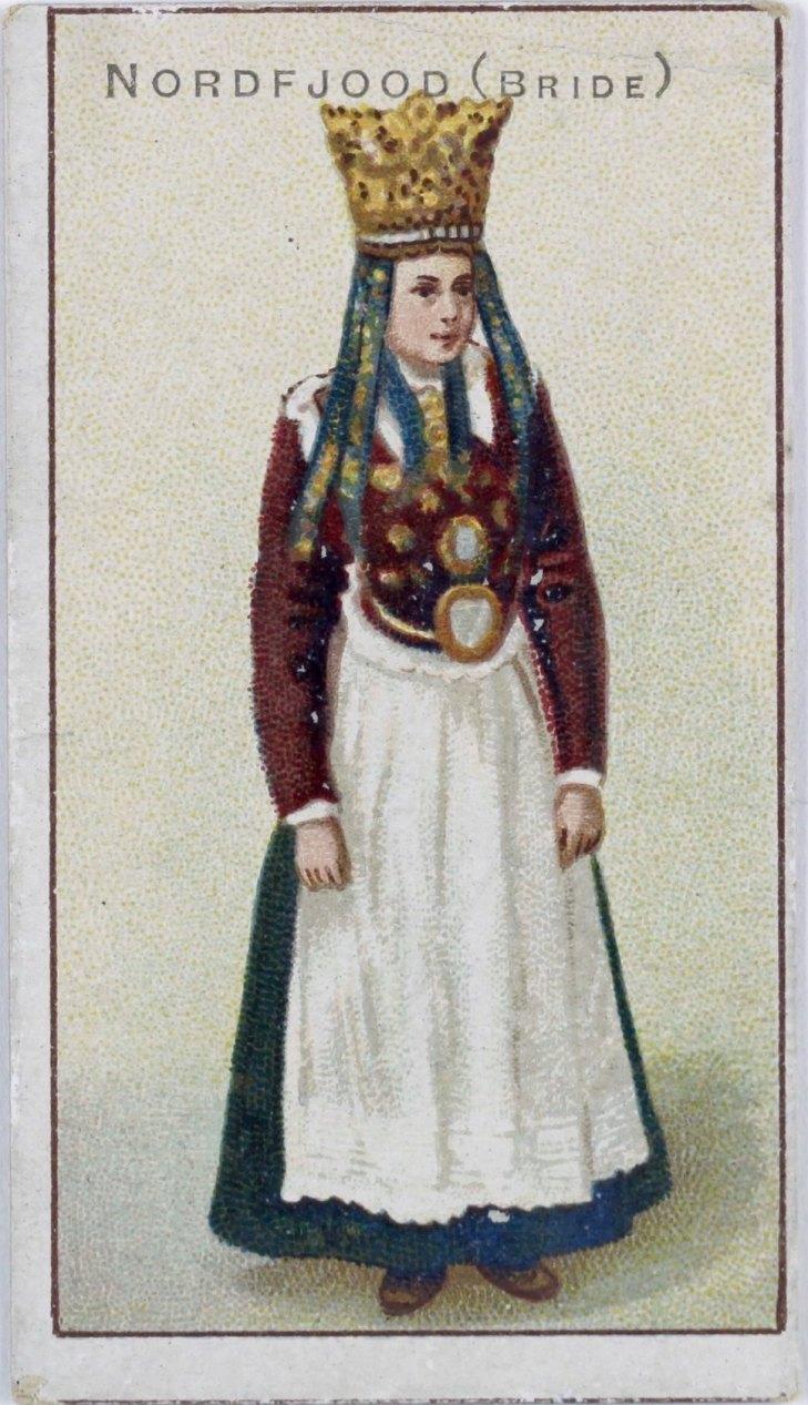 Wings of Whimsy: Bride Nordfjord ca 1900