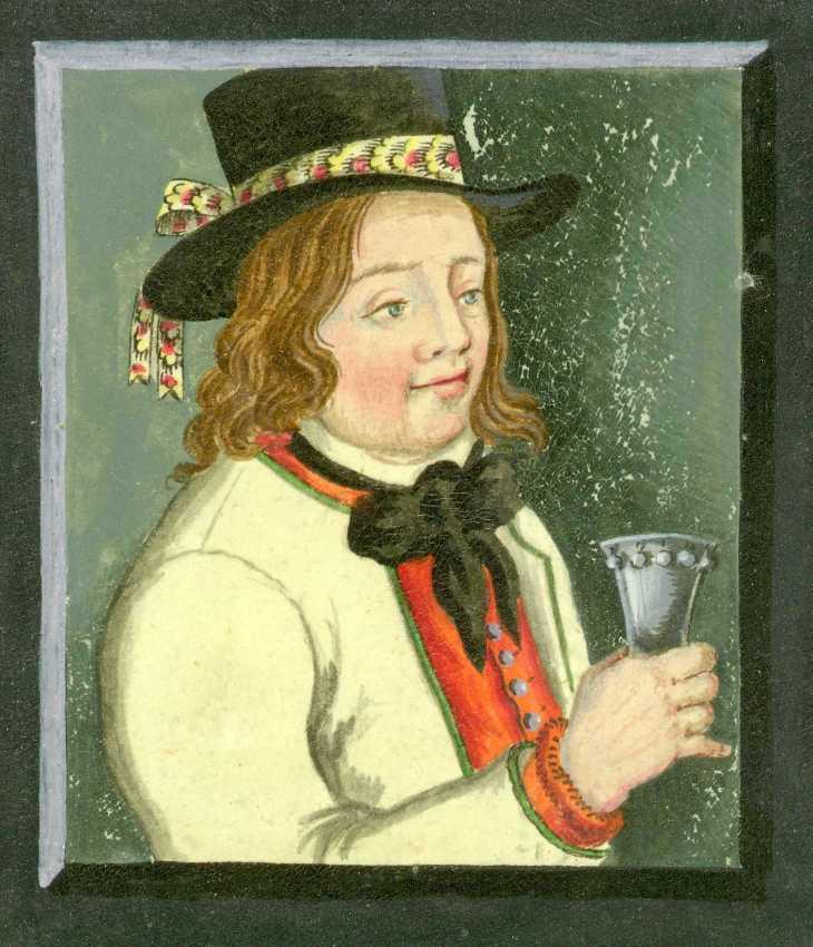 Wings of Whimsy: Johan Dreier period 1800-1833 Groom from Fana (Bergen)