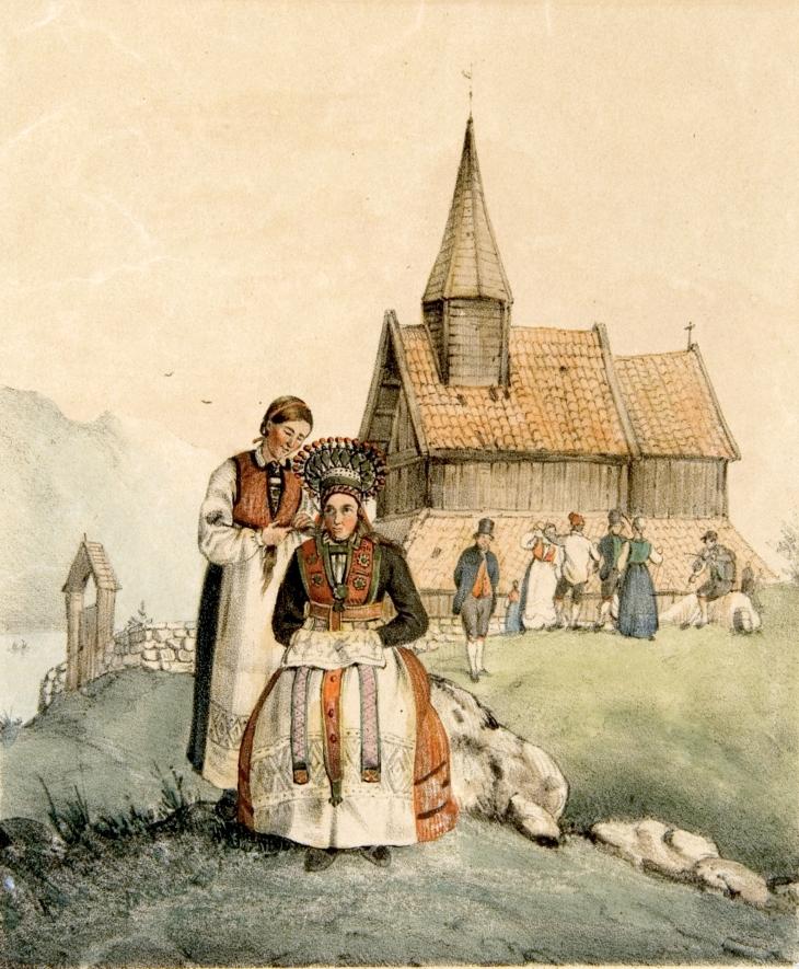 Wings of Whimsy: Duntze - Hardanger (Perlekrune) 1848
