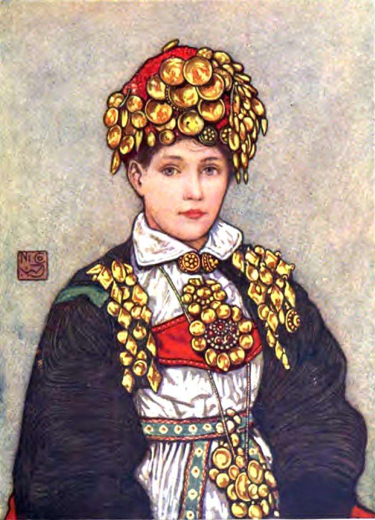 Wings of Whimsy: Nico Jungman - Bride Setesdal 1905