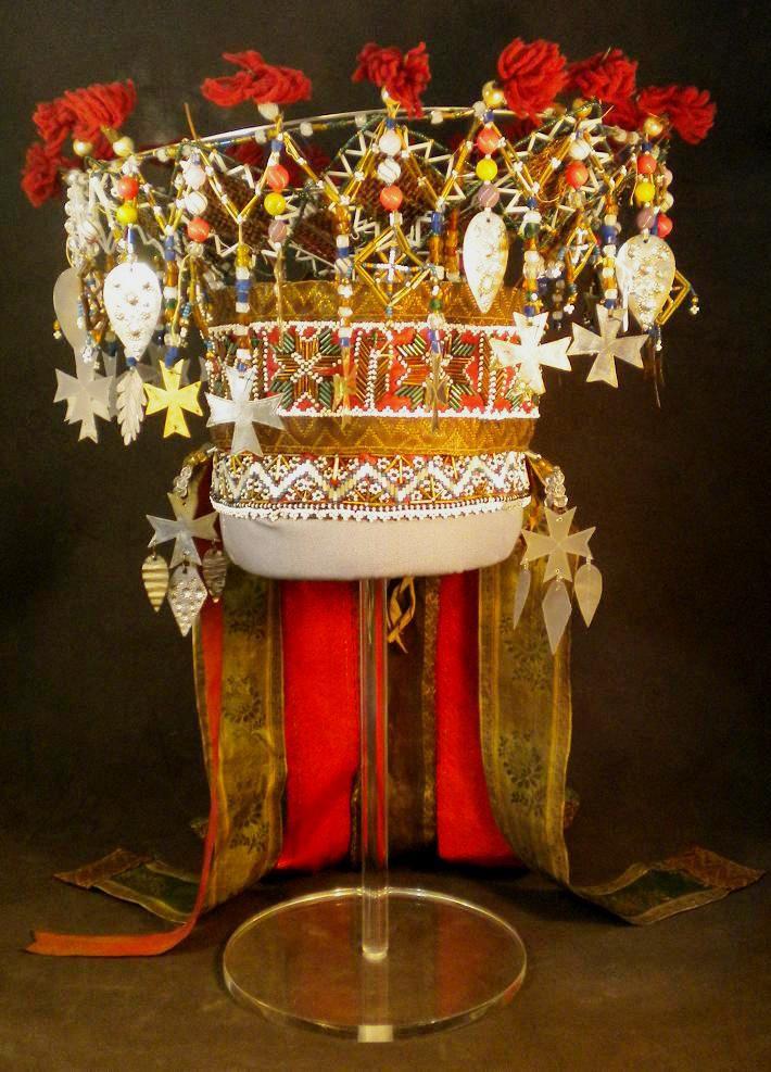Wings of Whimsy: Norwegian Bridal Crowns Gallery - Perlekrune