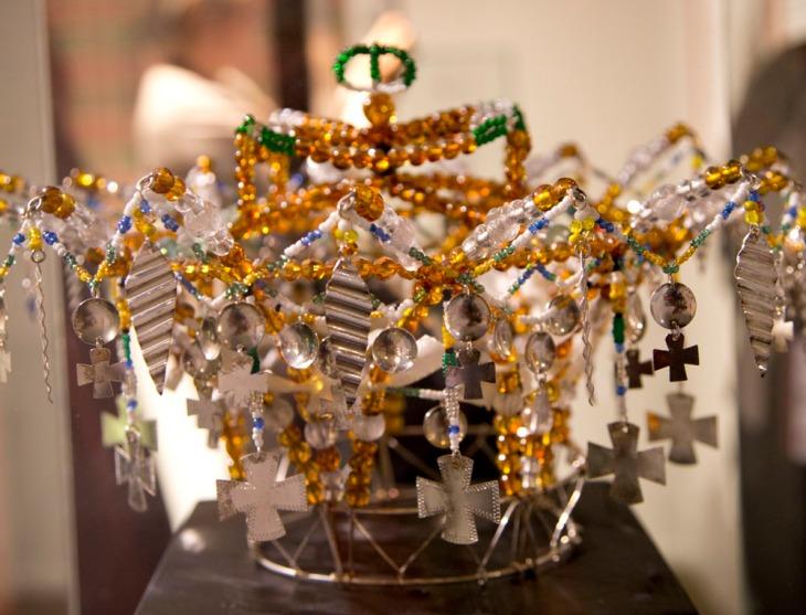 Wings of Whimsy: Norwegian Bridal Crowns Gallery - Perlekrune Valdres
