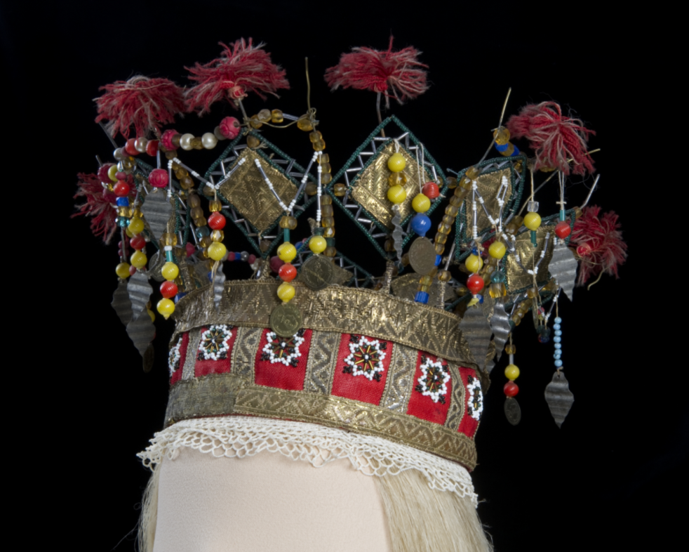 Wings of Whimsy: Norwegian Bridal Crowns Gallery - Perlekrune Rogaland 1874