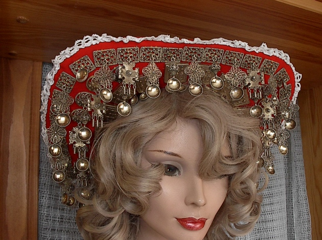 Wings of Whimsy: Norwegian Bridal Crowns Gallery - Telemark Lad
