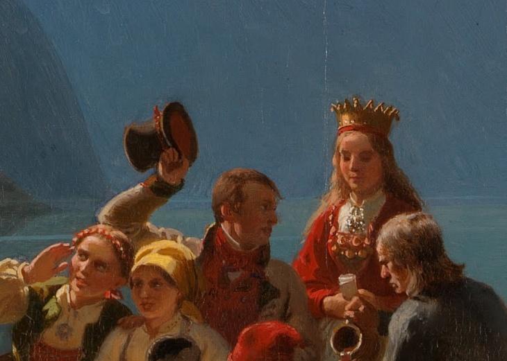 Wings of Whimsy: Tidemand & Gude - Brudeferd i Hardanger