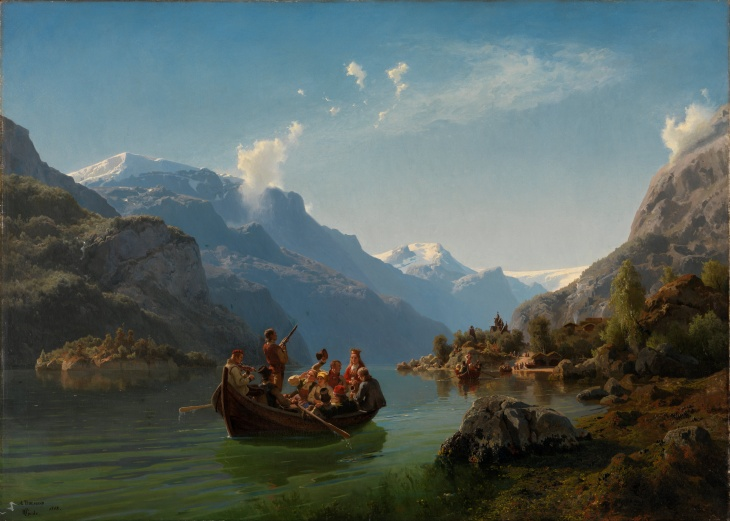 Wings of Whimsy: Tidemand & Gude - Brudeferd i Hardanger (The Bridal Procession in Hardanger)