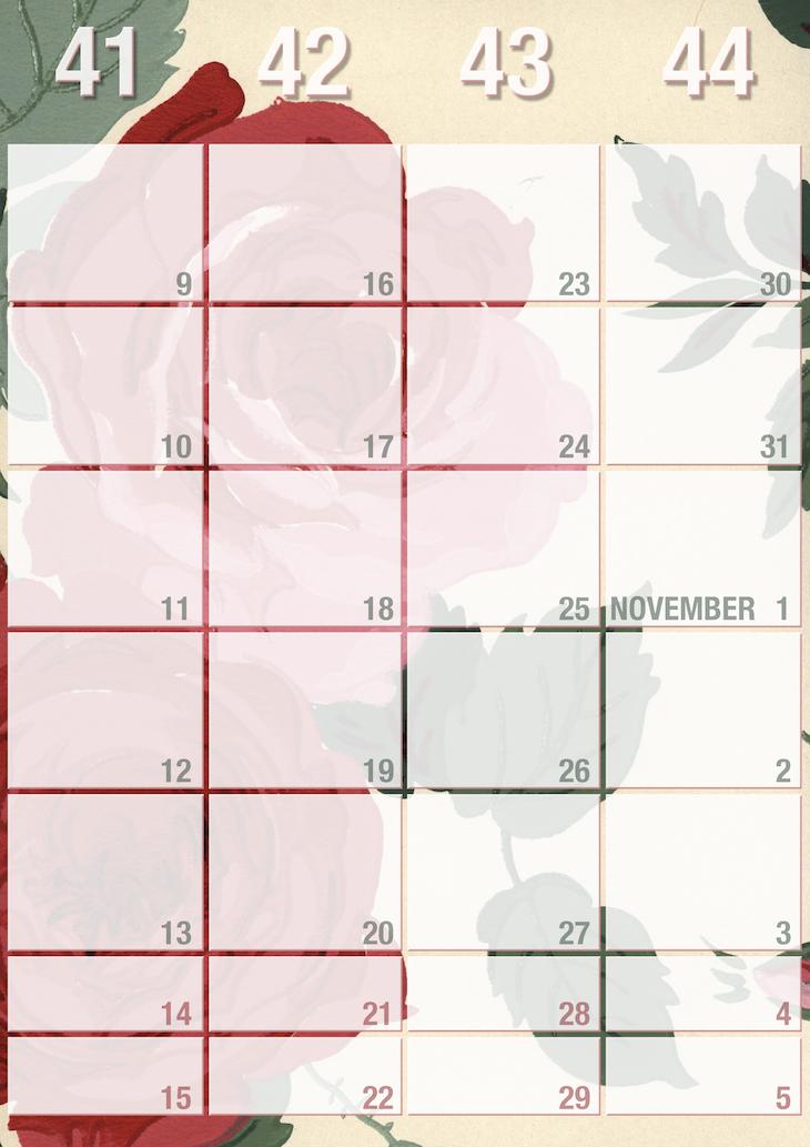 Calendar Planner Wallpaper : Calendar sunday weekly wallpaper planner wings of