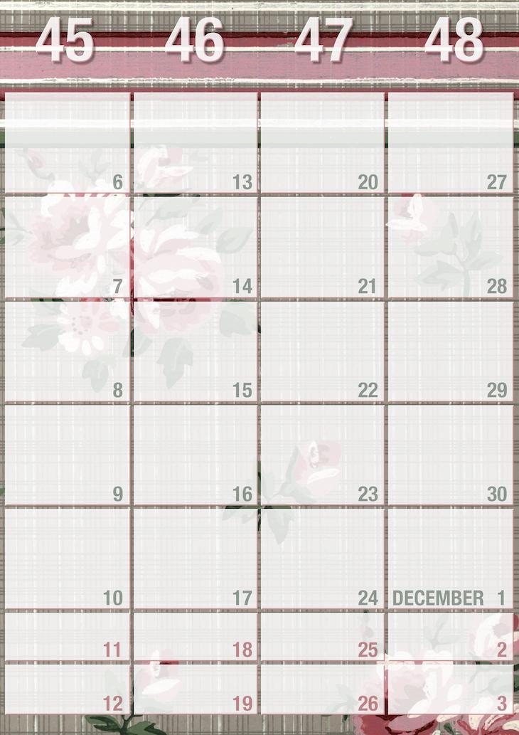 Wings of Whimsy: Weekly Wallpaper Planner 2017 #vintage #freebie #printable #calendar #planner #wallpaper