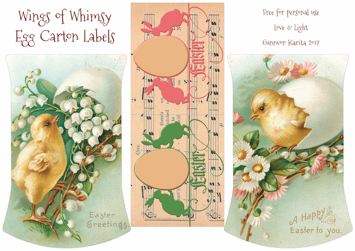 Label wings of whimsy for Egg carton labels template